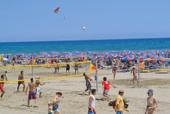 Cyprus Tourism organized beach 4 min walk